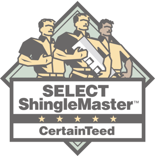 Select Shingle Master Certified Badge