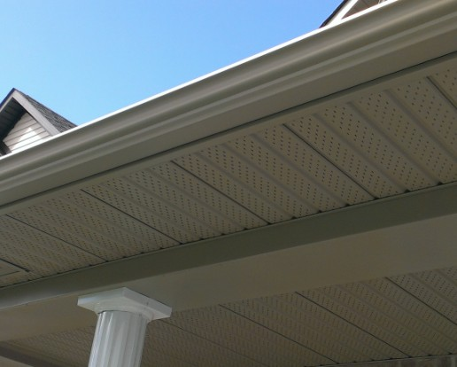 damaged eavestrough and gutters require insurance