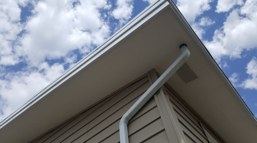 Eavestrough and gutter installation