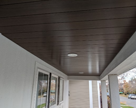 Fascia custom installation completed project on Calgary home